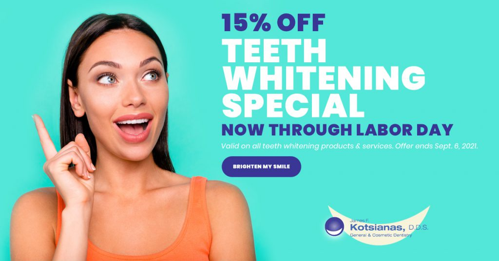Kotsianas DDS 2021 Teeth Whitening Special